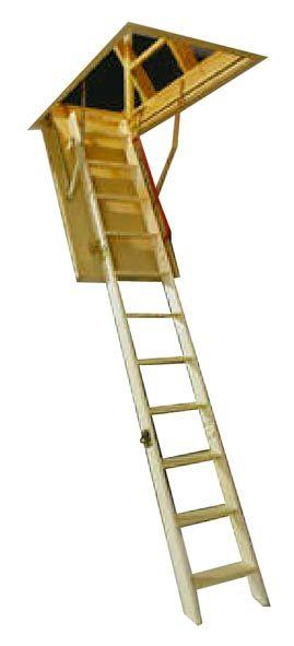 Fa padláslépcső, padláslétra